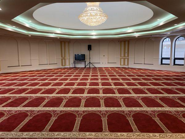 Red Hira Masjid Carpet