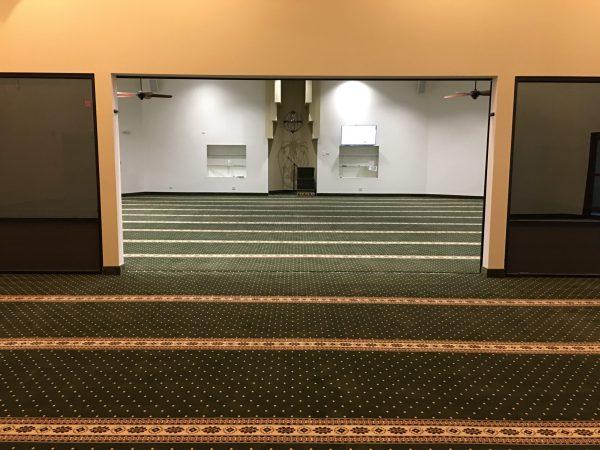 Green Border Masjid Carpet