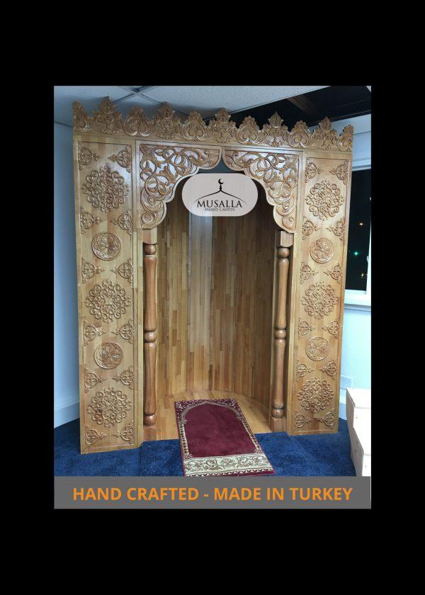 HAND-CRAFTED MEHRAB