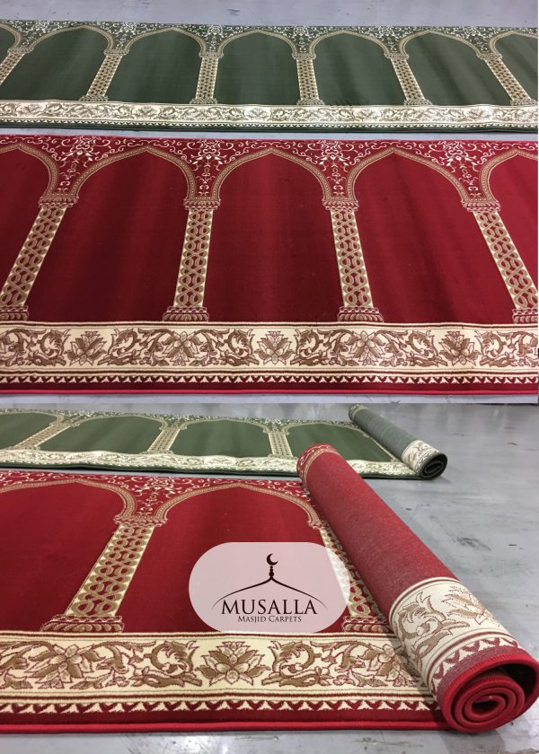 Portable Praying Rug Portable Masjid carpet Musalla Masjid Carpets