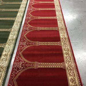Red Hira Portable Prayer Carpet