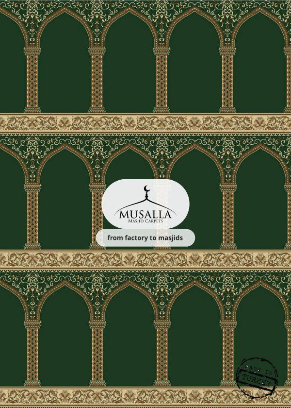 green Hira musalla masjid carpets masjid carpets