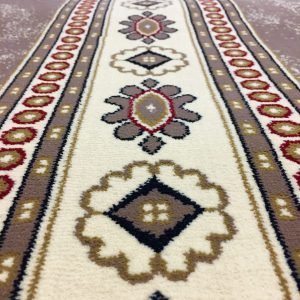 Brown Border- Elegance Quality -The Best Quality in the US - CLEARANCE