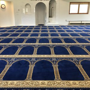 Blue Hira Masjid Carpet