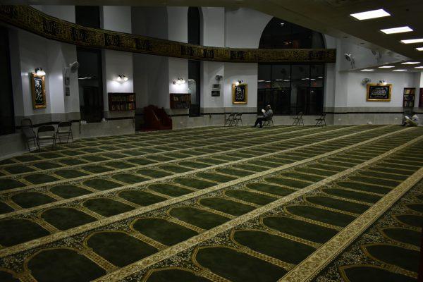 Green Hira Masjid Carpet