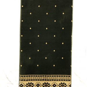 Individual Prayer Rug - Green Border