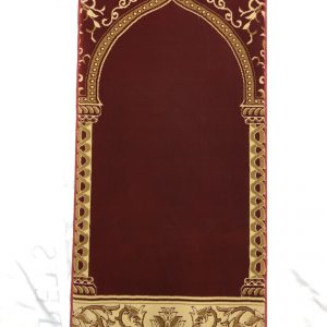 Single Prayer Rug Red Hira