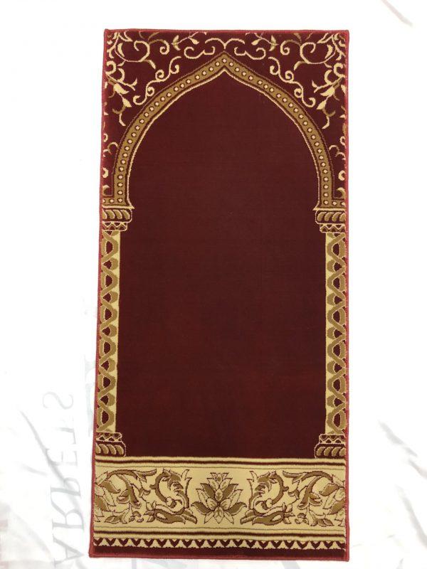 Single Prayer Rug Red Hira