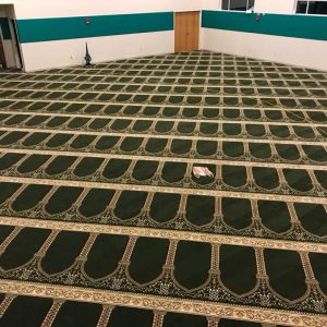 Wool Masjid Carpet - Super Green Hira